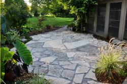 Lannon stone patio