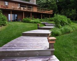 Showcase Patios Native Plants Natural Stone Sustainable Gardens