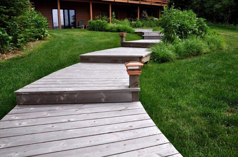 ... Cedar Walkway Three Lakes WI 3 ...