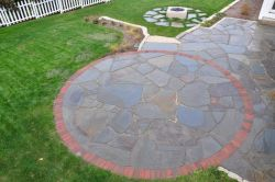 Full Color Irregular Bluestone Patio Grafton WI