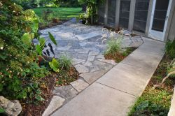 Bayside  WI   Natural Flagstone Patio