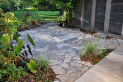 Bayside  WI   Natural Flagstone Patio 2