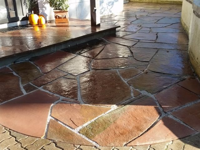 Bayside Colorado Red Flagstone Patio