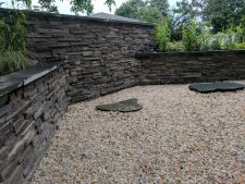 Greendale WI Dry Stack Masonry Walls Decorative Stone Japanese Garden
