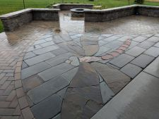 Hubertus WI Unilock Brussels Dimensional Holland Premier New York Bluestone Accents