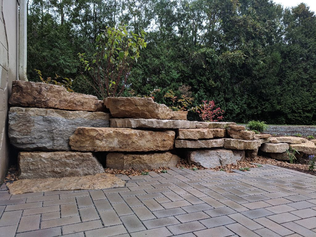 Showcase | Patios Native Plants Natural Stone Sustainable
