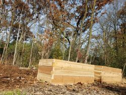 Raised Beds Back Yard Gardening Cedar Beds Custom Raised Beds
