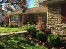 Wauwatosa WI Front Yard Foundation Plantings All Season Interest2