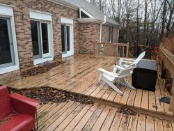Old Deck Before