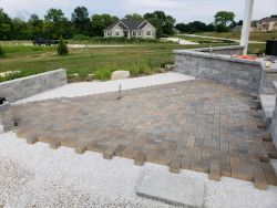 Unilock Holland Premier Pavers In Progress