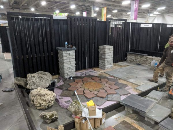 West Allis WI Home   Garden Show 2018 In Progress